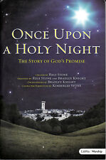 ONCE UPON A HOLY NIGHT Christian Music Song Book - Piano & Vocal!