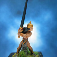 Painted I-Kore Celtos Miniature Elf with Greatsword