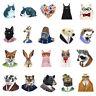 1PCS Cartoon Animals Shaped Badge Acrylic Badges Pin Brooch Bear Hedgehog Cat