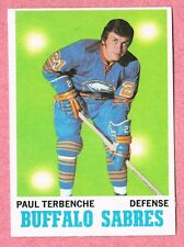 1970-71 70-71 O-PEE-CHEE OPC #123 Paul Terbenche SET BREAK (2)