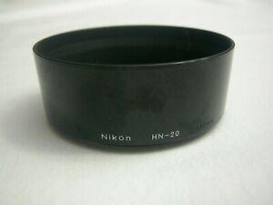 Nikon HN-20 Metal Lens Hood for 85mm f1.4 MF lens