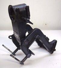 YAMAHA 2A 2hp OUTBOARD ENGINE TRANSOM BRACKET & LEG CLAMP BRACKET - 1974