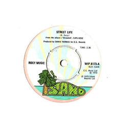 "Roxy MUSIC. STREET vita/Hula-KULA. UK ORIG 7"".In buonissima condizione+"