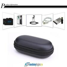 Mini Elliptical EVA Case Cellphone Headset Bluetooth Earphone Cable Storage Box