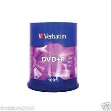 Verbatim DVD +R Matt Silver 4.7GB 16X Pack Spindle 43551
