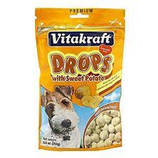 Vitakraft Dog Drops With Sweet Potato Treat, Dog Snacks, 8.8 Ounce Pouch