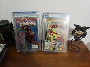 Amazing Spider-Man 529 Cgc 9.8 Iron Costume & Peter Parker Spectacular...