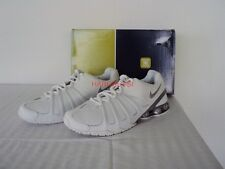 Original Nike Shox 45 low Classic Sneaker all white 9,5 / 43 NEU New with Box
