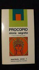 Procopio di Cesarea:  Storia Segreta. Newton Compton. 1972