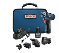 Bosch Flexiclick 12-Volt 1/4-in Cordless Drill (Charger Included and 2-Batteries