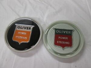 Oliver 550 660 770 950 990 1550 1600 1750 1800 1950 Steering Wheel Caps 2 Blem