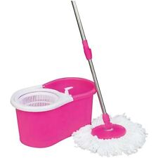 Easy mop 360 Degree Spin Magic with PLASTICbucket,BEST QUALITY WITH BEAUTIFUL CO