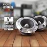 CT Sounds 4″ Inch Super Pro Horn Car Audio Tweeters Speaker Titanium (PAIR) Set