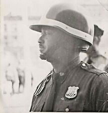 NYPD Police Vintage 1960's Original Print Photo 6th Division Police Officer