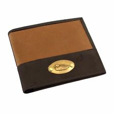 The British Bag Company Leather Wallet (with Duck plate)  NEW  25114