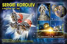 Antigua & Barbuda-2016-space-Sergei Korolev in memoriam 1907-1966