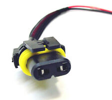 9006 HB4 Headlight Bulb Fog Light Wiring Harness Socket Connector Pigtail Plug 5