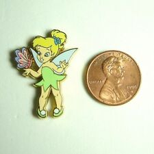 Disney Parks Pin Toddler Tinker Bell with Butterfly Mini Pin