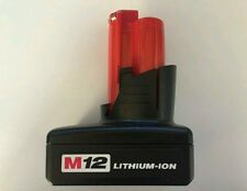 1pc new generic rechargeable li-ion battery for Milwaukee M12 battery 3000mA