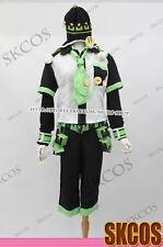 Dramatical Murder DMMD Noiz Cosplay costume + Hat + Belt + Accessories