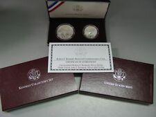 1998 Kennedy Silver Dollar Matte Finish Half Dollar Commemorative US Mint Set