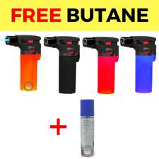 4 Pack Eagle Jet Torch Gun Butane Lighter Refillable Windproof+ FREE Butane