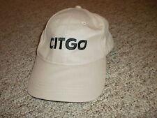 Citgo gas gasoline khaki colored adjustable hat cap