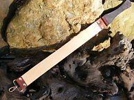 NEW HAND MADE SHAVING STROP  BUSHCRAFT KNIFE