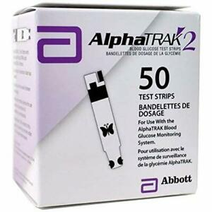2 Pet Blood Glucose Test Strips Dogs Cats Diabetes 50ct