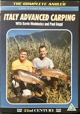 Italy Advanced Carping With Kevin Maddocks & Paul Guggi (Official DVD) FreePost