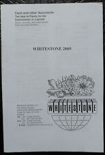 Whitestone 2005 !! kakteen book cactus SEEDS CATALOGUE catalogo vivaio piante