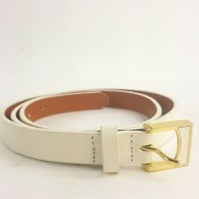 Lauren Ralph Lauren Womens Belt Size XL Genuine Leather White