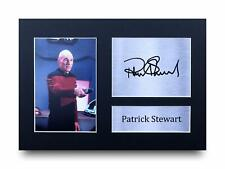 Patrick Stewart Signed Pre Printed Autograph Photo Gift For a Star Trek Fan