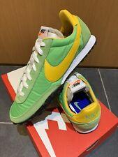 Nike Waffle Racer UK 9 Eur 44 Retro Runners Green Yellow Tailwind 79 Vortex VRTX