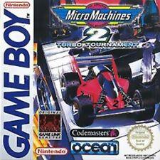 Nintendo GameBoy Spiel - Micro Machines 2: Turbo Tournament Modul