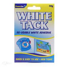 Powertac White Tack 50g UK Seller
