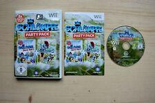 Wii - Die Schlümpfe Party Pack - (OVP, mit Anleitung)
