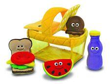 L@@K Melissa and Doug 3048 Picnic Basket Soft Baby Toy Kitchen Ships Global NEW