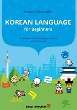 KOREAN LANGUAGE FOR BEGINNERS NEW PAPERBACK BOOK