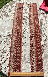 2 Pieces Of American Antique Pre Civil War Cotton Fabrics~Quilt, Dolls
