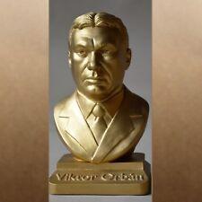 Viktor Orban metal gold 20cm büste bust busto popiersie бюст