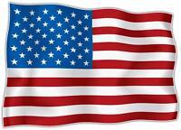 Lot de 10 x AUTOCOLLANT STICKER drapeau USA AMERICAIN ETATS UNIS  Moto Voiture