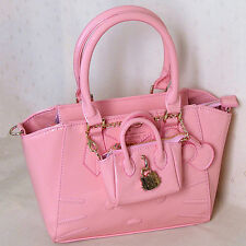 HelloKitty Messenger Cross-body  Handbag Tote Shoulder Bag 2018 New  Pu Bow Pink