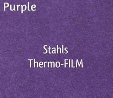 "20"" x 2 Yards - Stahls' Thermo-FILM Heat Transfer Vinyl HTV - Purple"
