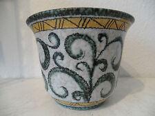 50er / 60er Jahre Design Keramik Blumentopf, Übertopf wohl von Ruscha (A510)