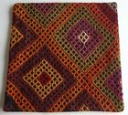 Vintage Turkish Kilim pillow cover (#4)