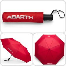 Fiat Abarth Compact Red Umbrella Push Button Type New Genuine 6002350527