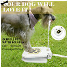 Automatic Dog Water Fountain Step On Toy Outdoor Joy With Pets security Drink xe