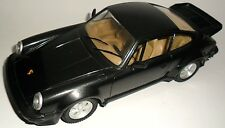 TONKA POLISTIL 1:16 DIE CAST MADE IN ITALY AUTO PORSCHE 911 TURBO NEGRO ARTE