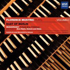 Florence Mustric - East of Berlin Volume I CD Mussorgsky Ben-Haim Sokola Suda